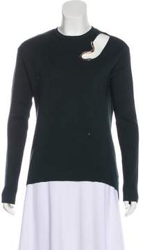 Esteban Cortazar Long Sleeve Knit Sweater