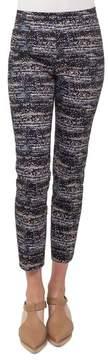 Akris Punto Franca Twilight City Print Ankle Pants