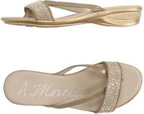 Andrea Morelli Toe strap sandals