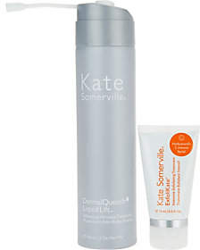 Kate Somerville Luxury Size DermalQuench with Travel Size Exfolikate