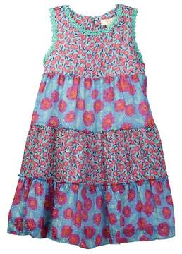 Kate Spade floral tiered trapeze dress (Toddler & Little Girls)