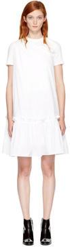 Edit White Single-Shoulder Dress