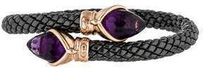 Chimento Amethyst Ceramic Stretch Bracelet