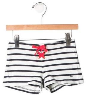 Petit Bateau Girls' Striped Shorts