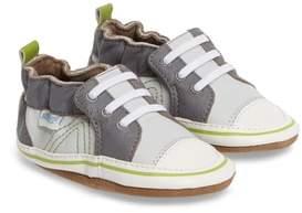 Robeez Infant Boy's Trendy Trainer Sneaker Crib Shoe