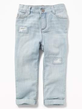 Old Navy Distressed Boyfriend Jeans for Toddler Girls