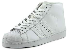 adidas Pro Model J Youth US 6 White Sneakers