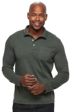 Croft & Barrow Men's Classic-Fit Easy-Care Interlock Polo