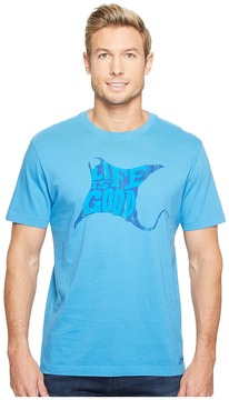 Life is Good LIG Sting Ray Crusher Tee