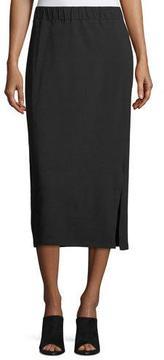 Eileen Fisher Organic Cotton Jersey Pencil Skirt