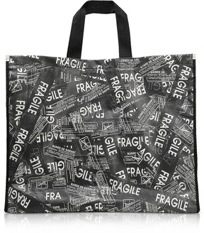 Maison Margiela Fragile Printed Tote Bag