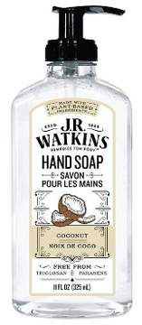 JR Watkins Coconut Scented Hand Soap 11 oz