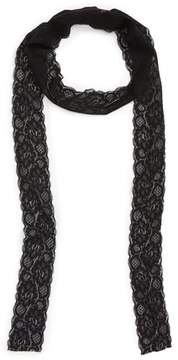 Sole Society Women's Skinny Lace Scarf