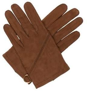 Hermes Nubuck Short Gloves