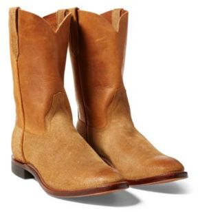 Ralph Lauren Roper Boot Tan 10