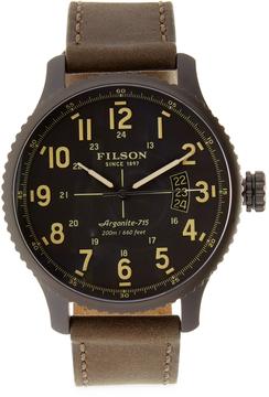 Filson Mackinaw Field 3HD Watch, 43mm