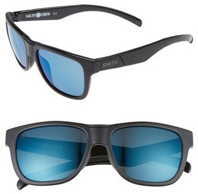 Smith Women's Lowdown Slim 53Mm Chromapop Polarized Sunglasses - Matte Black Salty Crew