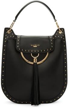 Balmain Black Domaine 35 Bag