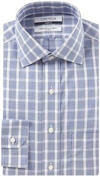 Daniel Cremieux Non-Iron Slim-Fit Spread-Collar Plaid Dress Shirt