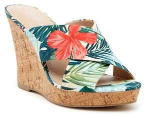 Charles by Charles David Latrice Tropical Floral Wedge Sandal