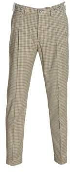 Berwich Men's Yellow Wool Pants.
