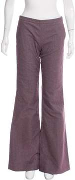 Giamba Mid-Rise Wide-Leg Pants