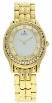 Corum Octagonal 585526 18K Yellow Gold Automatic 28mm Womens Watch