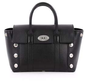 Mulberry Pre-owned: Bayswater Satchel Leather With Studded Detail Small.