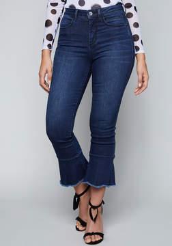 Bebe High Rise Flare Hem Jeans