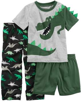 Carter's Toddler Boy 3-pc. T-Rex Dinosaur Pajama Set