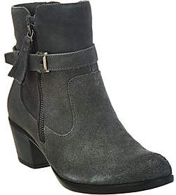 Earth As Is Origins Suede Water Repellent Ankle Boots - Tori