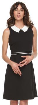 Elle Women's ElleTM Pleated Fit & Flare Dress