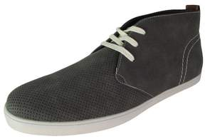 Steve Madden By Steve Mens Peter Perforated Chukka Boot Shoes