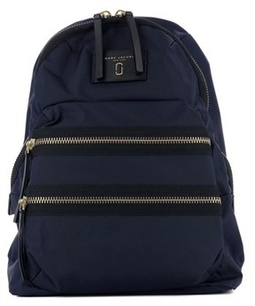 Marc Jacobs Women's Blue Fabric Backpack. - BLUE - STYLE