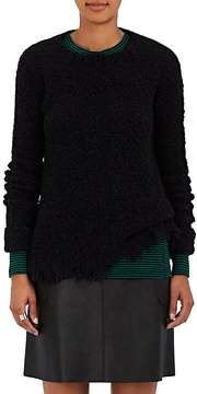 ATM Anthony Thomas Melillo Women's Distressed Bouclé Sweater