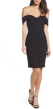 Bardot Women's Eva Off The Shoulder Body-Con Dress