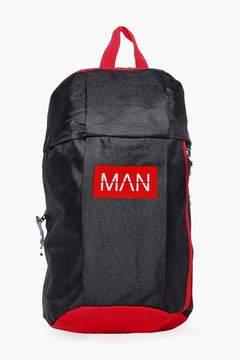 boohoo MAN Running Backpack