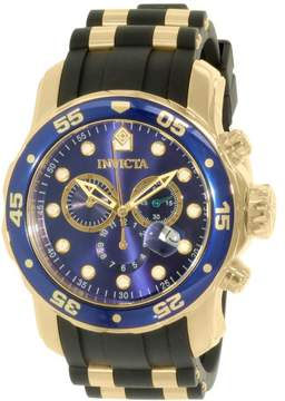 Invicta Men's Pro Diver 17882 Black Rubber Swiss Chronograph Dress Watch
