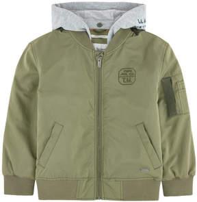 Pepe Jeans Hooded bomber jacket