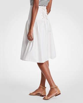 Ann Taylor Corset Full Skirt