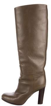 Celine Knee-High Leather Boots