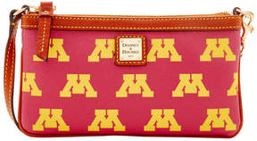 Dooney & Bourke Minnesota Golden Gophers Large Slim Wristlet - GOLD - STYLE