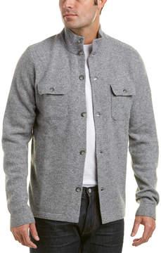 Michael Bastian Gray Label Wool-Blend Mock Neck Sweater