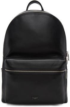 Dolce & Gabbana Black Leather Backpack