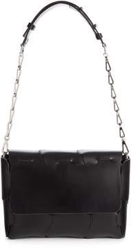 Paco Rabanne Mini 1601 Calfskin Shoulder Bag