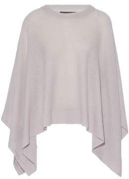 Enza Costa Wool And Cashmere-Blend Poncho