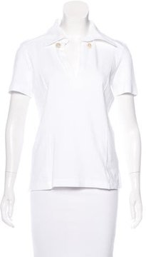 Tod's Short Sleeve Polo Top