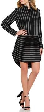 Daniel Cremieux Deanna Stripe Shirt Dress