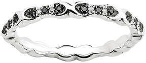 Black Diamond FINE JEWELRY Personally Stackable 1/6 CT. T.W. White & Color-Enhanced Ring