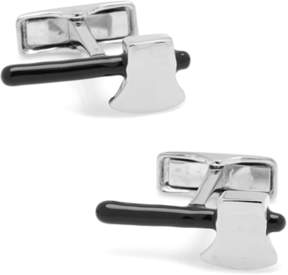 Co Ox and Bull Trading Sterling Axe Cufflinks.